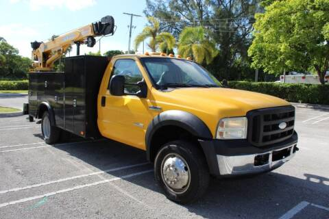 2006 Ford F-550 Super Duty for sale at Truck and Van Outlet - All Inventory in Hollywood FL