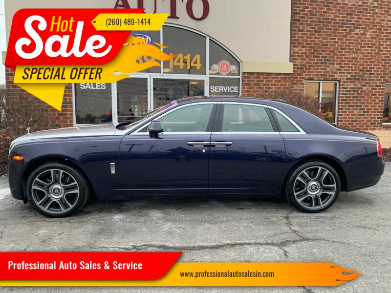 2016 Rolls-Royce Ghost for sale at Professional Auto Sales & Service in Fort Wayne IN