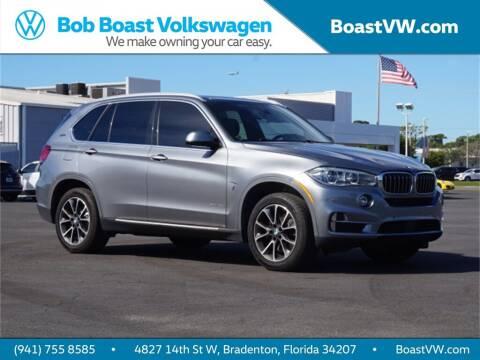 2018 BMW X5 for sale at Bob Boast Volkswagen in Bradenton FL
