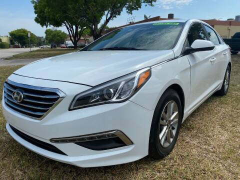 2015 Hyundai Sonata for sale at Nationwide Auto Finance in Miami FL