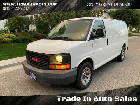 2010 GMC Savana Cargo for sale at Trade In Auto Sales in Van Nuys CA