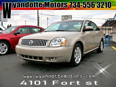2006 Mercury Montego for sale at Wyandotte Motors in Wyandotte MI