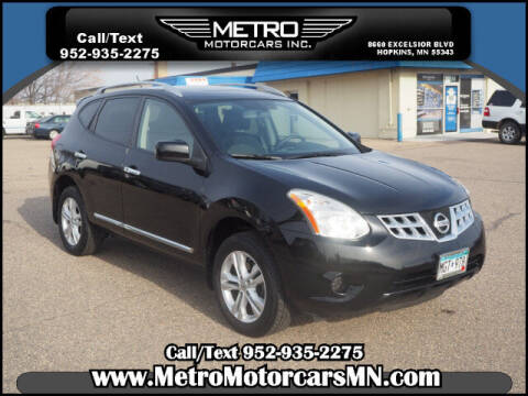 2012 Nissan Rogue for sale at Metro Motorcars Inc in Hopkins MN