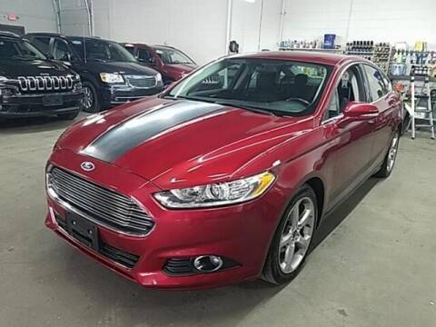 2013 Ford Fusion for sale at Cj king of car loans/JJ's Best Auto Sales in Troy MI