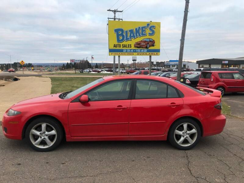2007 Mazda MAZDA6 for sale at Blakes Auto Sales in Rice Lake WI