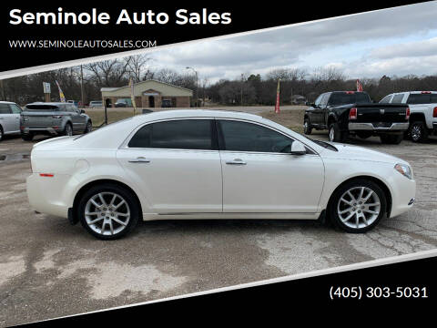 2012 Chevrolet Malibu for sale at Seminole Auto Sales in Seminole OK