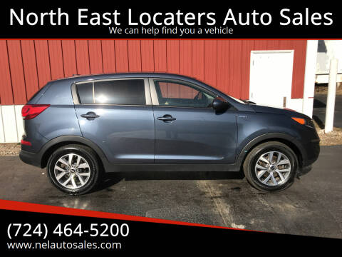 2015 Kia Sportage for sale at North East Locaters Auto Sales in Indiana PA