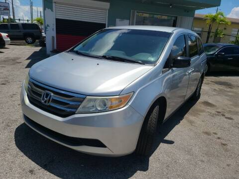 2011 Honda Odyssey for sale at Naber Auto Trading in Hollywood FL