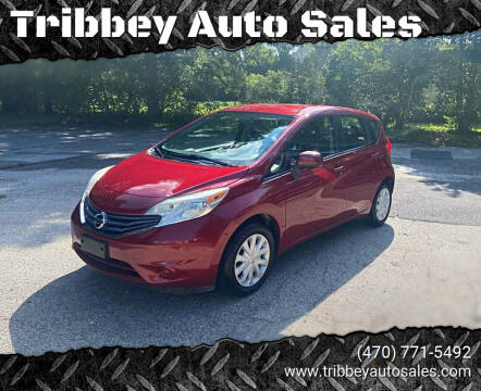 2014 Nissan Versa Note for sale at Tribbey Auto Sales in Stockbridge GA