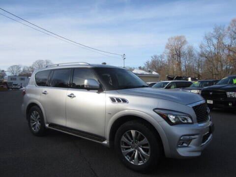 2015 Infiniti QX80 for sale at Auto Choice of Middleton in Middleton MA