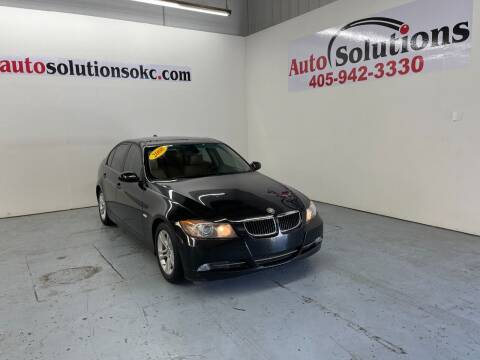 2008 BMW 3 Series for sale at Auto Solutions in Warr Acres OK