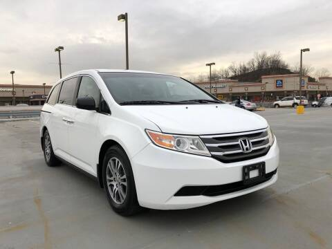 2012 Honda Odyssey for sale at JG Auto Sales in North Bergen NJ