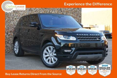 2017 Land Rover Range Rover Sport for sale at Dallas Auto Finance in Dallas TX