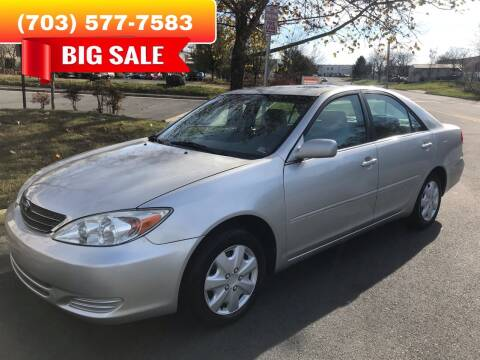 2004 Toyota Camry for sale at Dreams Auto Group LLC in Sterling VA