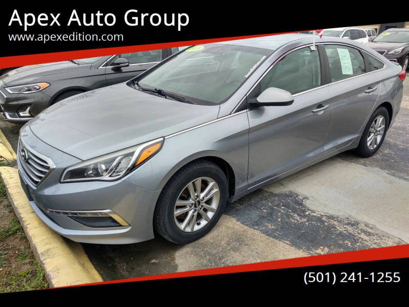 2015 Hyundai Sonata for sale at Apex Auto Group in Cabot AR