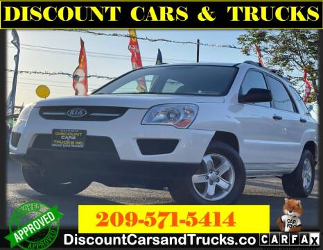 2010 Kia Sportage for sale at Discount Cars & Trucks in Modesto CA
