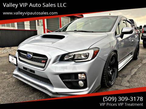 2016 Subaru WRX for sale at Valley VIP Auto Sales LLC in Spokane Valley WA