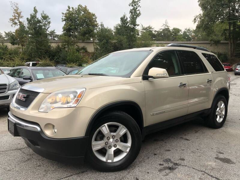 2008 GMC Acadia for sale at Car Online in Roswell GA