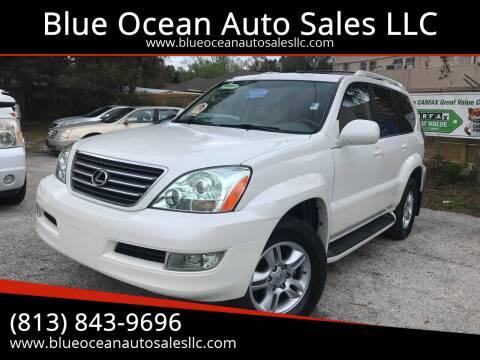 2007 Lexus GX 470 for sale at Blue Ocean Auto Sales LLC in Tampa FL