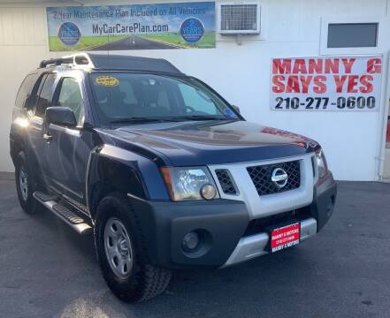 2010 Nissan Xterra for sale at Manny G Motors in San Antonio TX