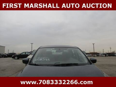 2013 Nissan Sentra for sale at First Marshall Auto Auction in Harvey IL