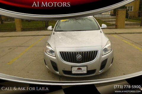 2012 Buick Regal for sale at A1 Motors Inc in Chicago IL