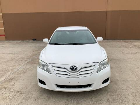 2010 Toyota Camry for sale at ALL STAR MOTORS INC in Houston TX
