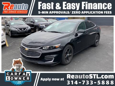 2018 Chevrolet Malibu for sale at Reauto in Saint Louis MO
