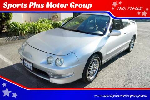 2001 Acura Integra for sale at Sports Plus Motor Group LLC in Sunnyvale CA