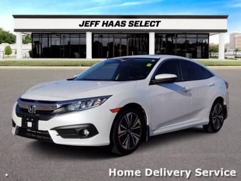 2016 Honda Civic for sale at JEFF HAAS MAZDA in Houston TX