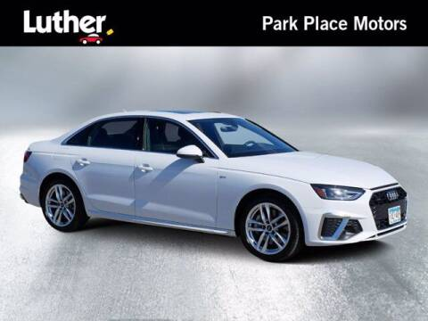 2020 Audi A4 for sale at Park Place Motor Cars in Rochester MN