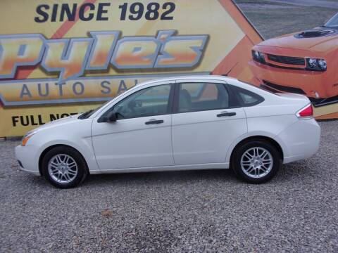 2009 Ford Focus for sale at Pyles Auto Sales in Kittanning PA