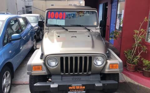 2006 Jeep Wrangler for sale at Excelsior Motors , Inc in San Francisco CA