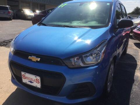 2017 Chevrolet Spark for sale at LOWEST PRICE AUTO SALES, LLC in Oklahoma City OK