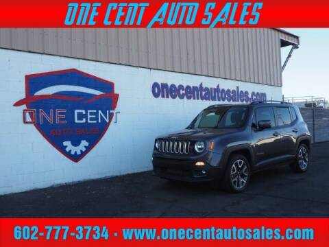 2018 Jeep Renegade for sale at One Cent Auto Sales in Glendale AZ