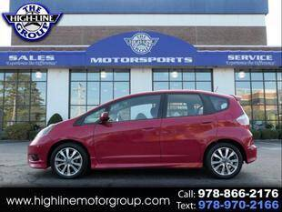 2013 Honda Fit for sale at Highline Group Motorsports in Lowell MA