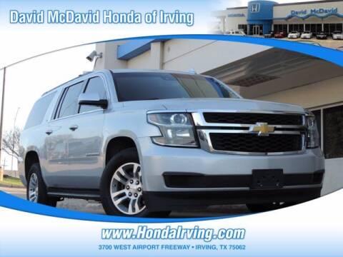 2018 Chevrolet Suburban for sale at DAVID McDAVID HONDA OF IRVING in Irving TX