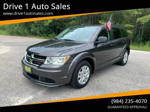 2018 Dodge Journey for sale at Drive 1 Auto Sales in Wake Forest NC