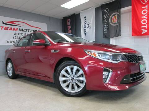 2018 Kia Optima for sale at TEAM MOTORS LLC in East Dundee IL