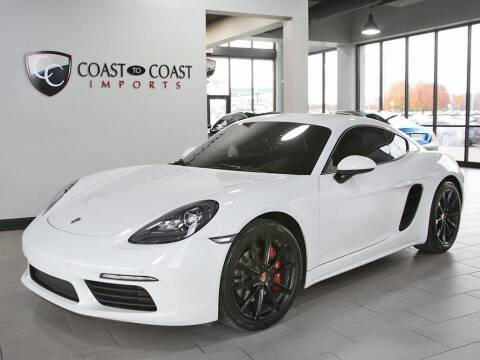 2018 Porsche 718 Cayman for sale at Coast to Coast Imports in Fishers IN