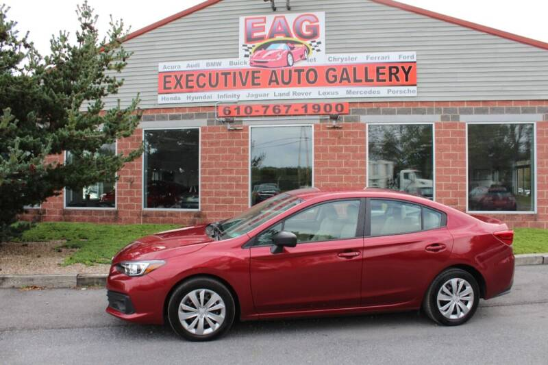 2021 Subaru Impreza for sale at EXECUTIVE AUTO GALLERY INC in Walnutport PA