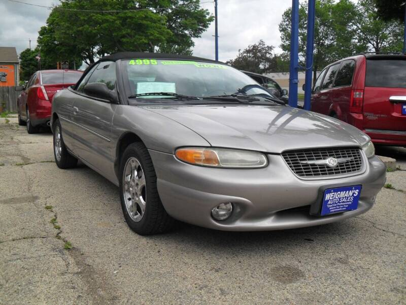 1998 Chrysler Sebring for sale at Weigman's Auto Sales in Milwaukee WI