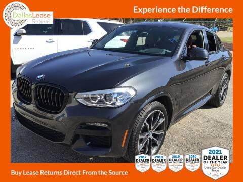 2021 BMW X4 for sale at Dallas Auto Finance in Dallas TX