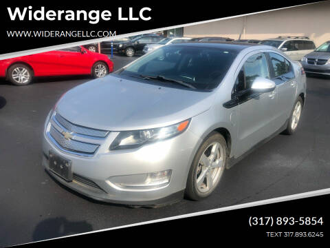 2012 Chevrolet Volt for sale at Widerange LLC in Greenwood IN