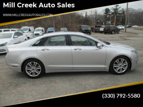 2013 Lincoln MKZ for sale at Mill Creek Auto Sales in Youngstown OH