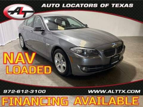 2012 BMW 5 Series for sale at AUTO LOCATORS OF TEXAS in Plano TX