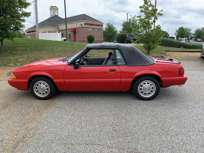 1993 Ford Mustang for sale at Bill Henderson Auto Group Inc in Statesville NC