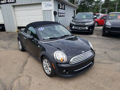 2013 MINI Roadster for sale at D & D Auto Sales Of Onsted in Onsted MI