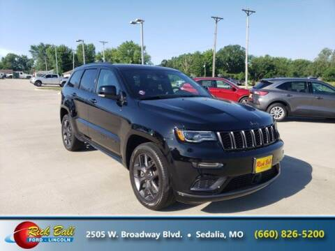 2019 Jeep Grand Cherokee for sale at RICK BALL FORD in Sedalia MO