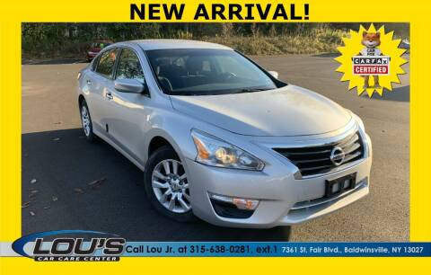 2013 Nissan Altima for sale at LOU'S CAR CARE CENTER in Baldwinsville NY